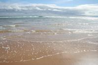 Waves on seashore