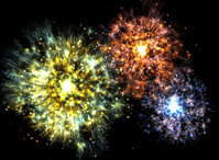 Colourful Explosions