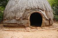 Traditional Zulu hut South Africa