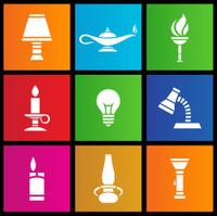 metro style light sources