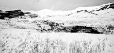 panoramic snow mountain
