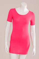 T-Shirt long pink