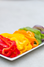 Sliced Pepper Rainbow - Vertical