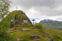 Sami church kata in Swedish Lapland