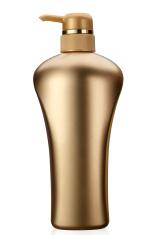 Gold Shampoo Bottle