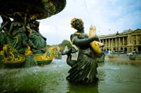Place de La Concorde Fountain - XLarge
