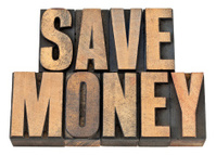 save money in wood type