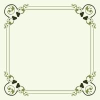 Decorative headset frame