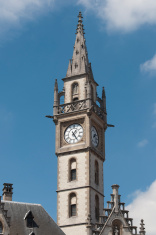 Tower in Gent, Belgium
