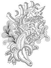 Banana Doodles