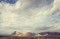 Dreamy Southwestern Desert Mountain Landscape