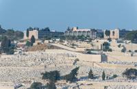 Mount olives jewish cemetery jerusalem