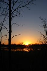 Peaceful Sunset In Minnesota