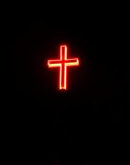 Illuminated Religious Cross