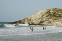 Paraguito beach surfer