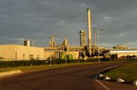 Refinery in the municipality of Rotterdam