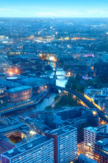 Berlin by twilight