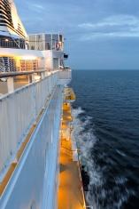 Cruise ship evening