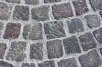 Block pavement of ancient street