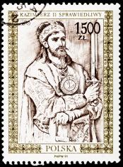 Casimir II the Just as drawn by Jan Matejko