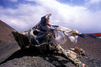 Buddist Prayer Flag Mountain