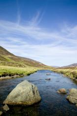 Rocky highland river