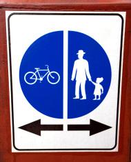 Bike and Pedestrians