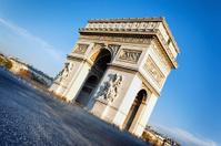 famous Arc de Triomphe