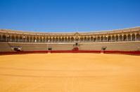 bullfight arena,  Sevilla, Spain