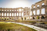 Ancient Amphitheater Pula, Croatia