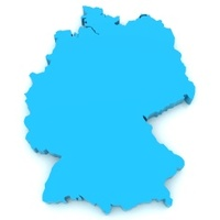 Cartoon Map Of Germany Stock Photos FreeImagescom - Germany map cartoon