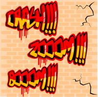Onomatopoeias graffiti style