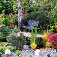 Quiet garden corner