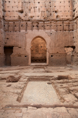 Ruins of Palais El Badii Marrakech Morocco