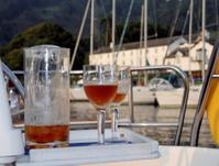 Evening Drinks Onboard Yacht