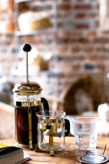 French press filter coffee