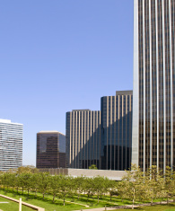 Business park in Los Angeles