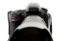 Camera with zoom lens,