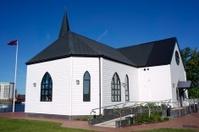 Norwegian Church, Cardiff Bay, Wales