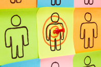 Target Your Customers Sticky Notes