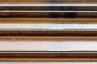 Wet steel beams