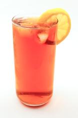 Iced Tea and Lemon Slice