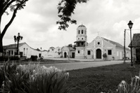 Historic church in Mompox, Colombia