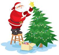 Christmas tree cartoon character stock photos freeimages com