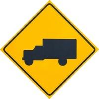 Truck Warning Sign