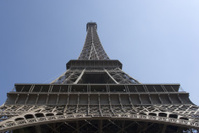 Eiffel tower frontal view