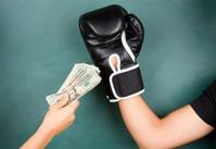 Fight for money