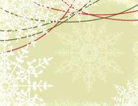 Snowflake Textured Christmas Background