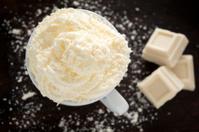 White Hot Chocolate with Cream