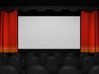 Movie Theater Screen Canvas